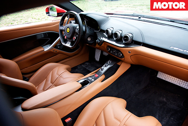 Ferrari -F12-Berlinetta -interior