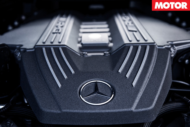 Merc -AMG-engine