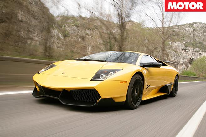 Lamborghini Murcielago SV front