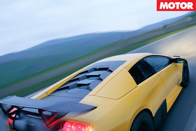 Lamborghini Murcielago SV rear