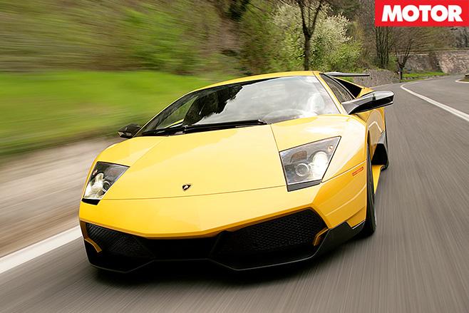 Lamborghini Murcielago SV front nose