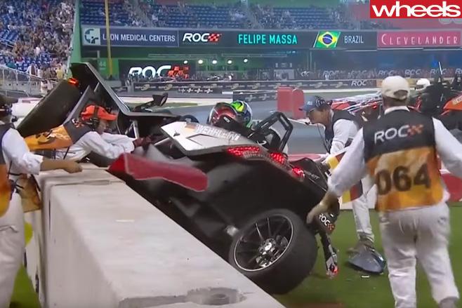 Pascal -Wehrlein -crash