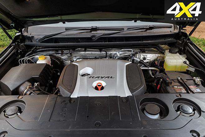 Haval H9 engine