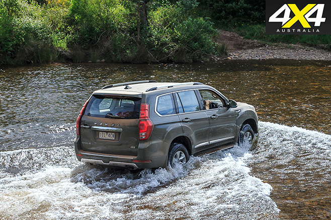 Haval H9 water fording