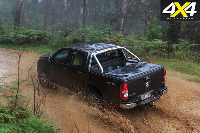 Holden Colorado rear