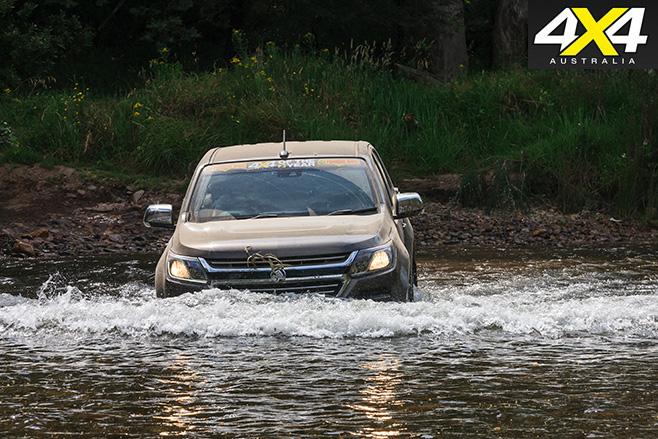 Holden Colorado front
