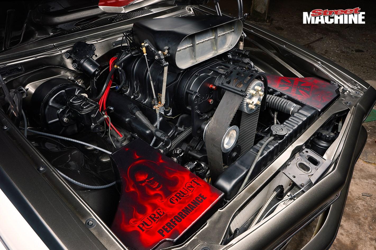 Holden Torana Killa Slr Engine Bay
