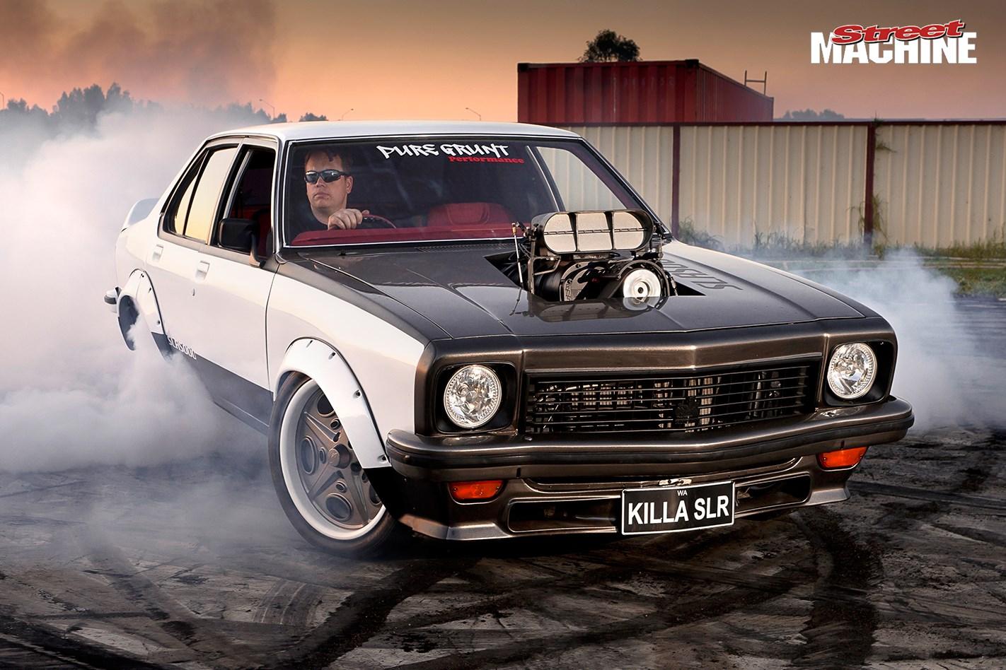 Holden Torana Killa Slr Burnout Nw