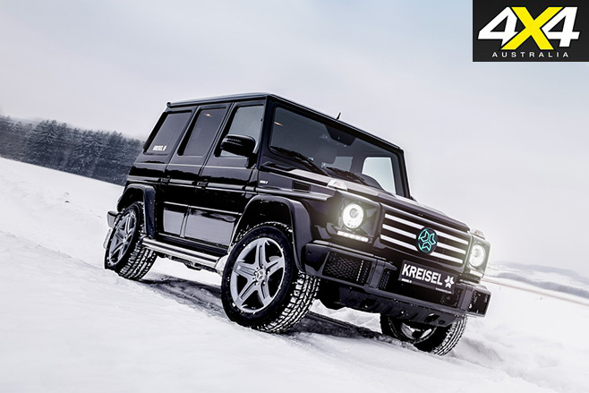 Kreisel electric Mercedes Benz G-Wagen