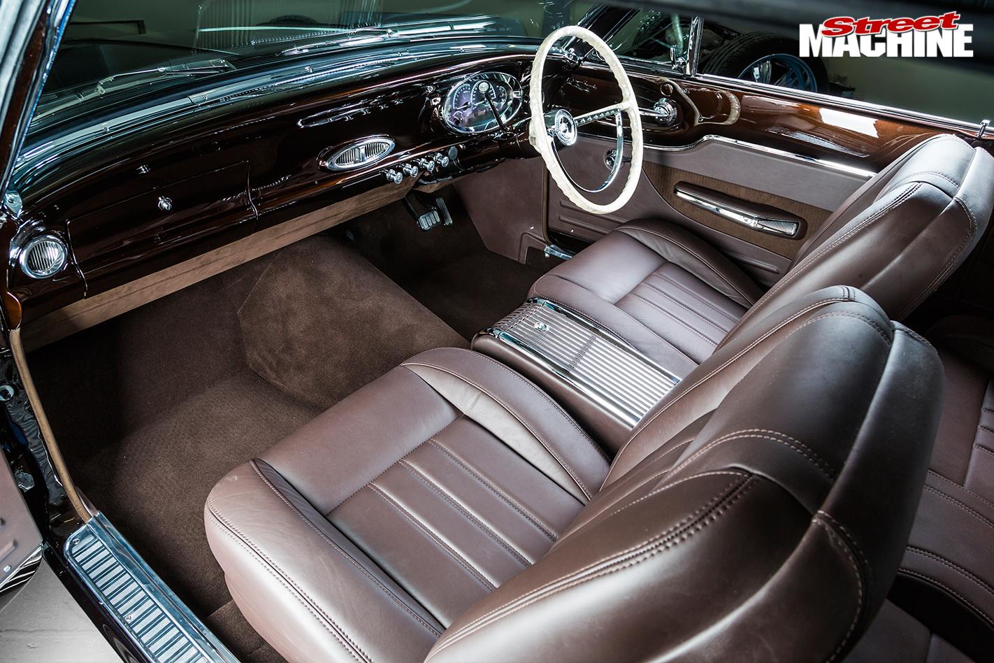 Ford -falcon -interior -front
