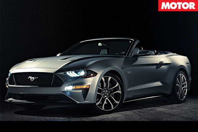 2018 Ford Mustang active side