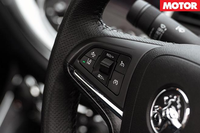 Holden SS-V Redline long-termer steering