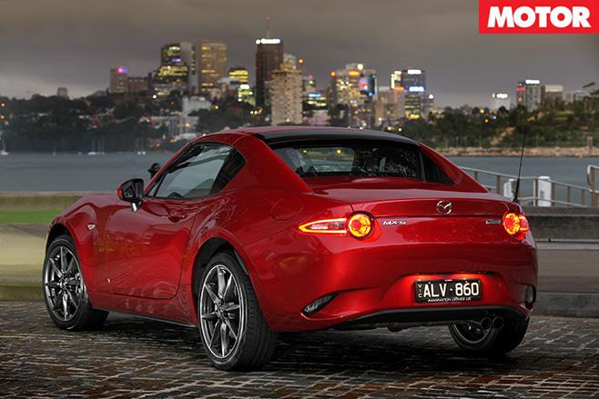 2017-Mazda MX-5 RF rear