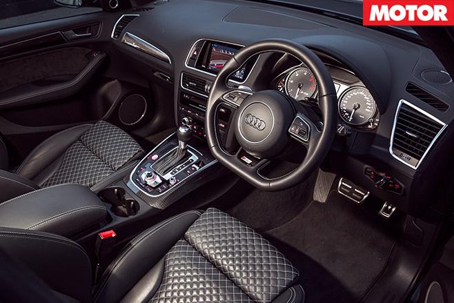 Audi SQ5 Plus interior