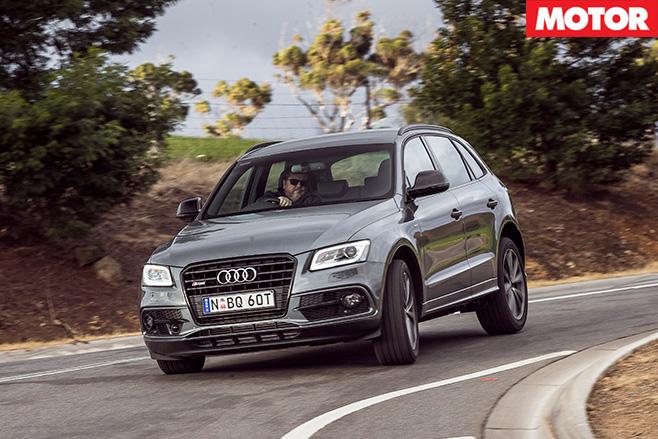 Audi SQ5 Plus driving