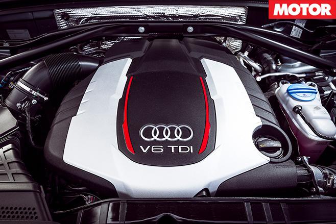 Audi SQ5 Plus engine
