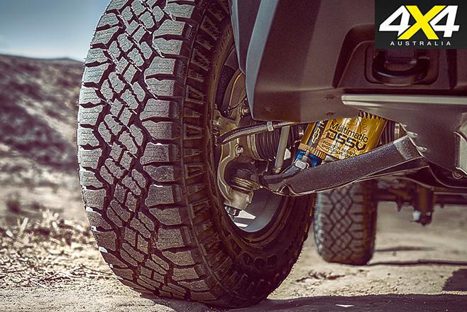 Chevrolet Colorado ZR2 suspension