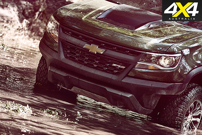 Chevrolet Colorado ZR2 front bumper