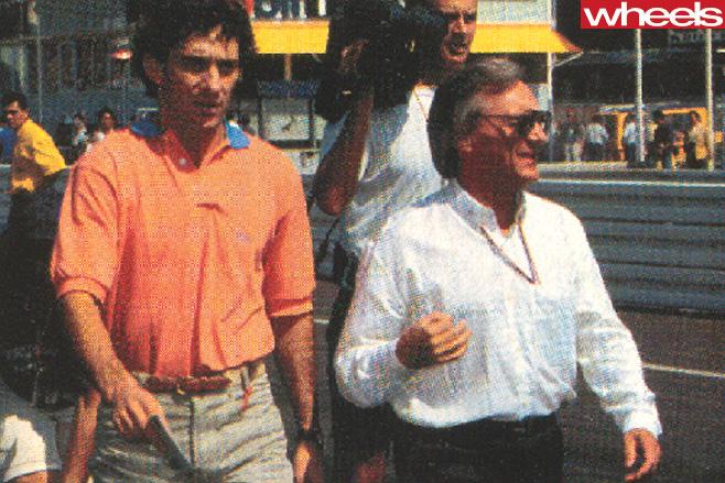 Bernie -Ecclestone -F1-CEO-at -track