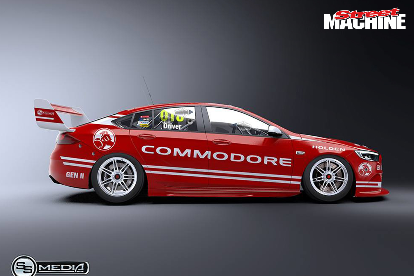 This is what the 2018 holden commodore race car could look like 2018 holden commodore supercars 4 sciox Gallery