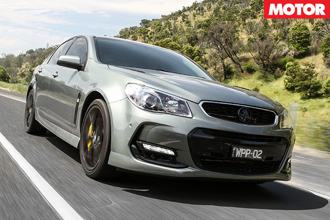 Walkinshaw Performance W407 front