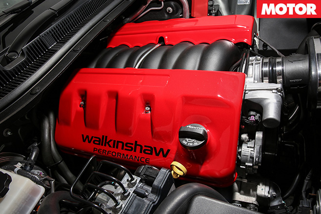 Walkinshaw Performance W407 engine