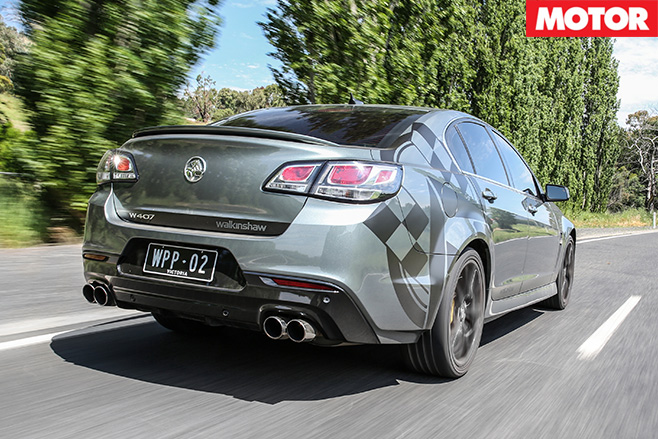 Walkinshaw Performance W407 fast