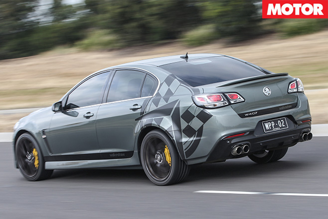 Walkinshaw Performance W407 rear driving