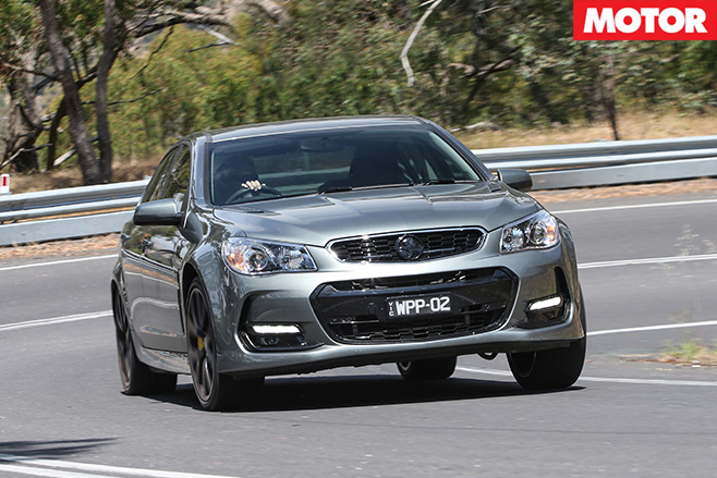 Walkinshaw Performance W407 front driving