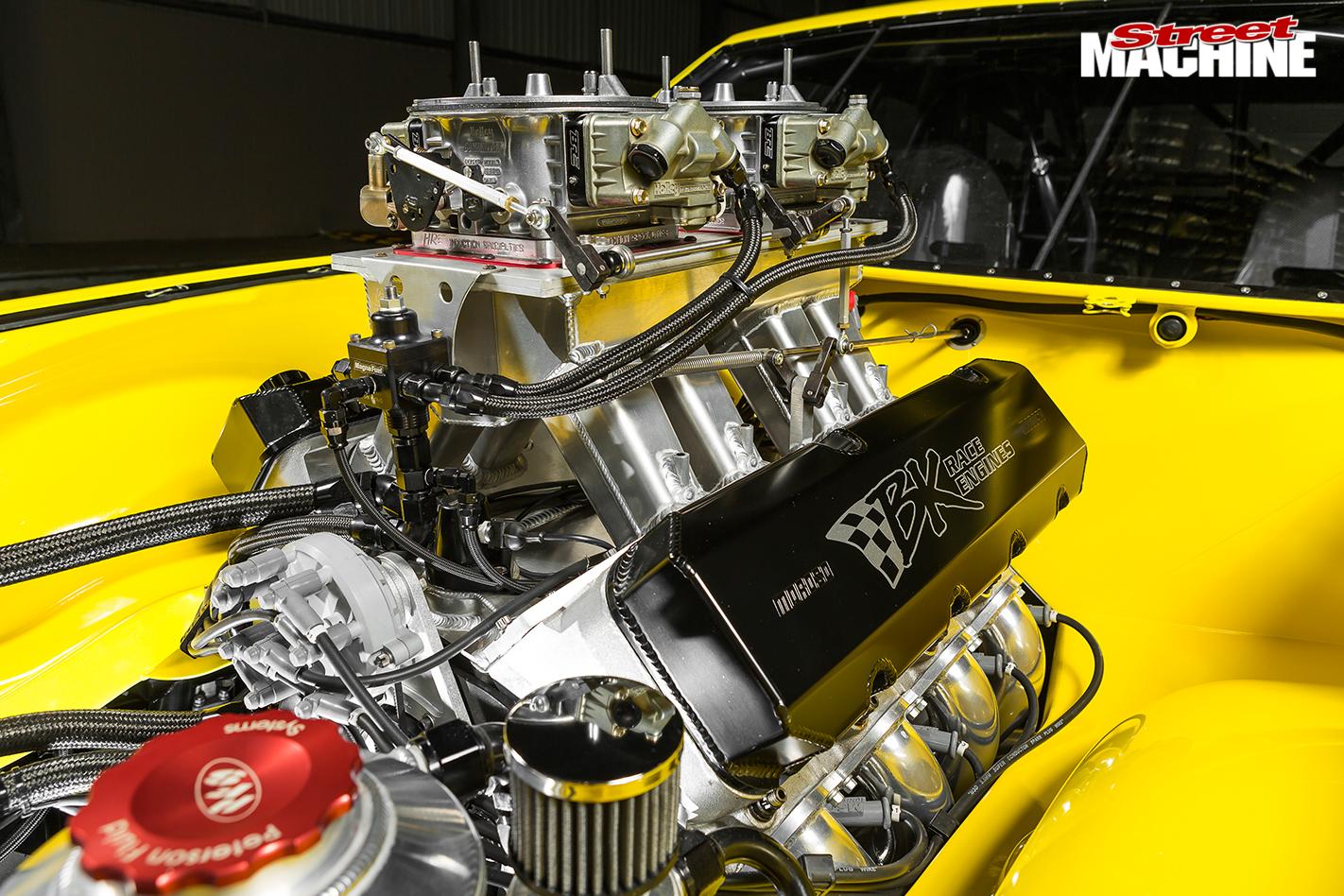 Holden -lx -torana -engine -detail