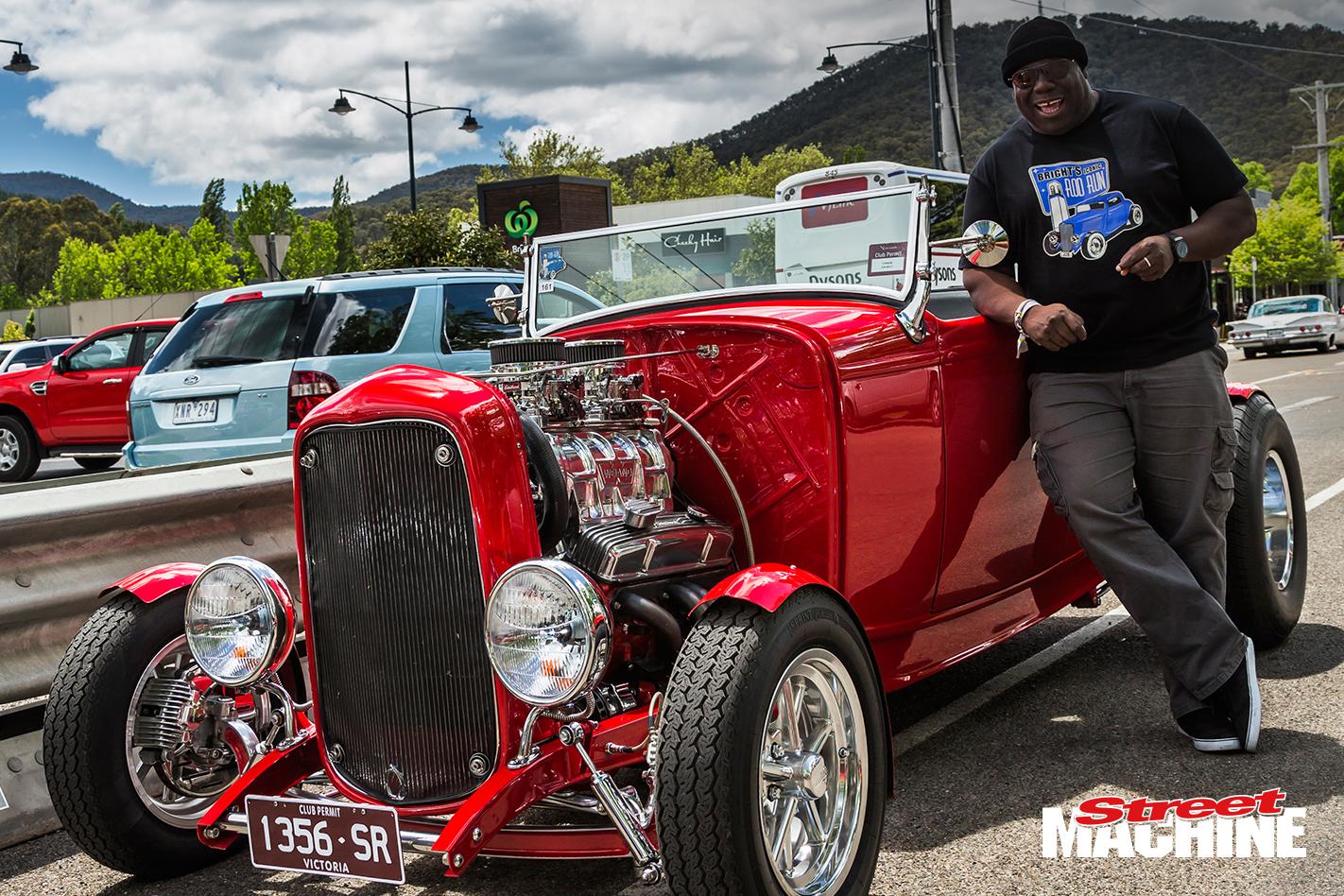 DJ Carl Cox Ford Roadster Hot Rod