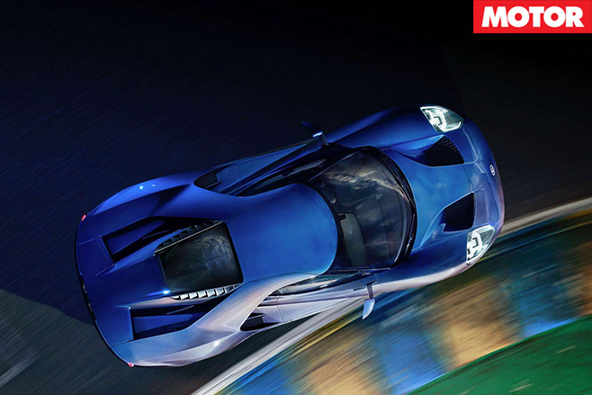 Ford GT top view