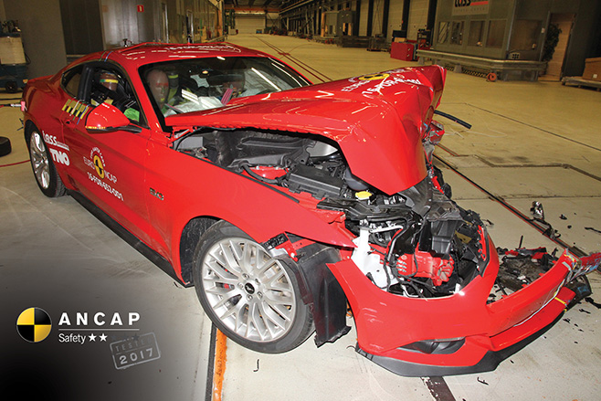 2017 Ford Mustang ANCAP
