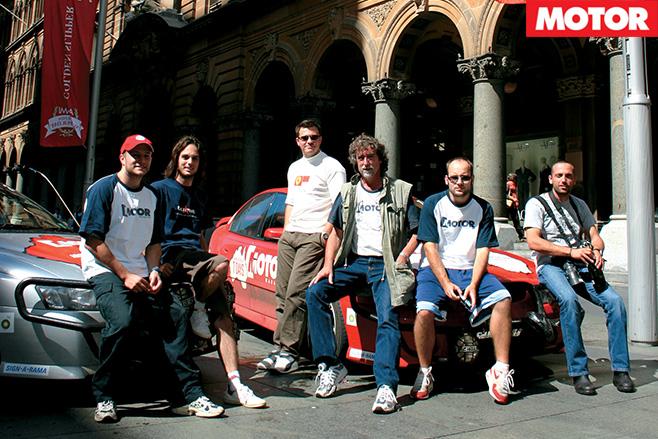 The 2004 MOTOR team