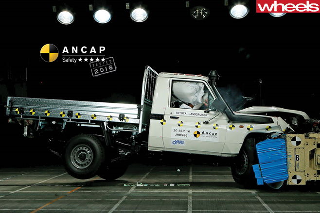 Ute -ANCAP-crash -test