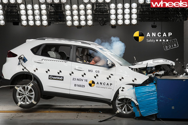 MG-SUV-ANCAP-crash -test