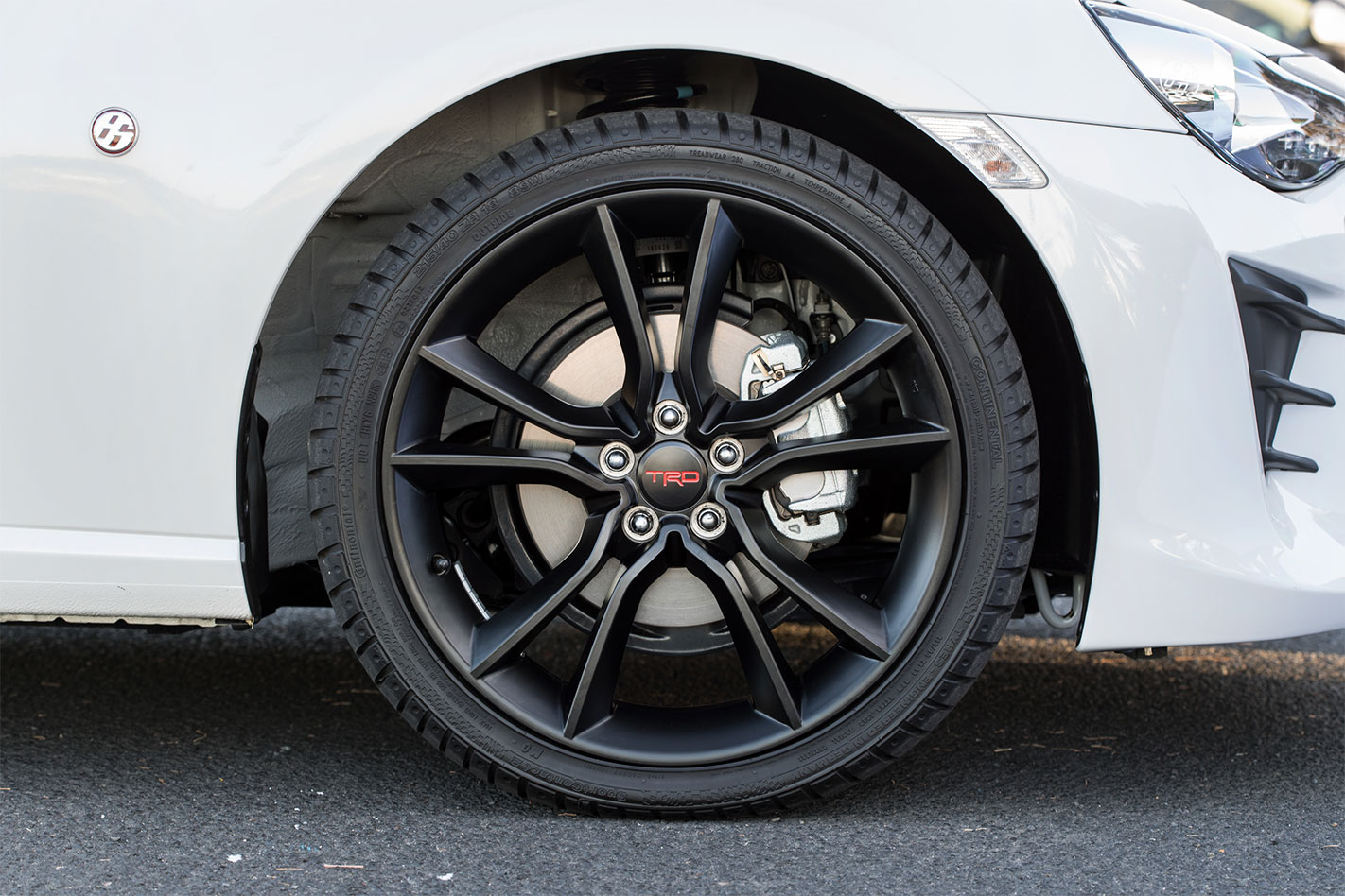 Toyota 86 TRD wheels