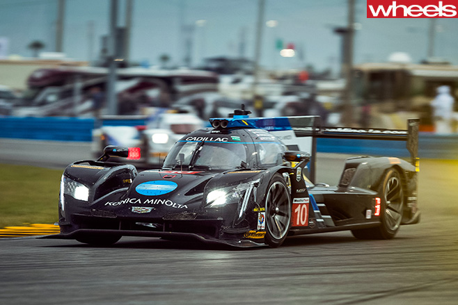 2017-Cadillac -LMP-car -Daytona -24-hour -racing