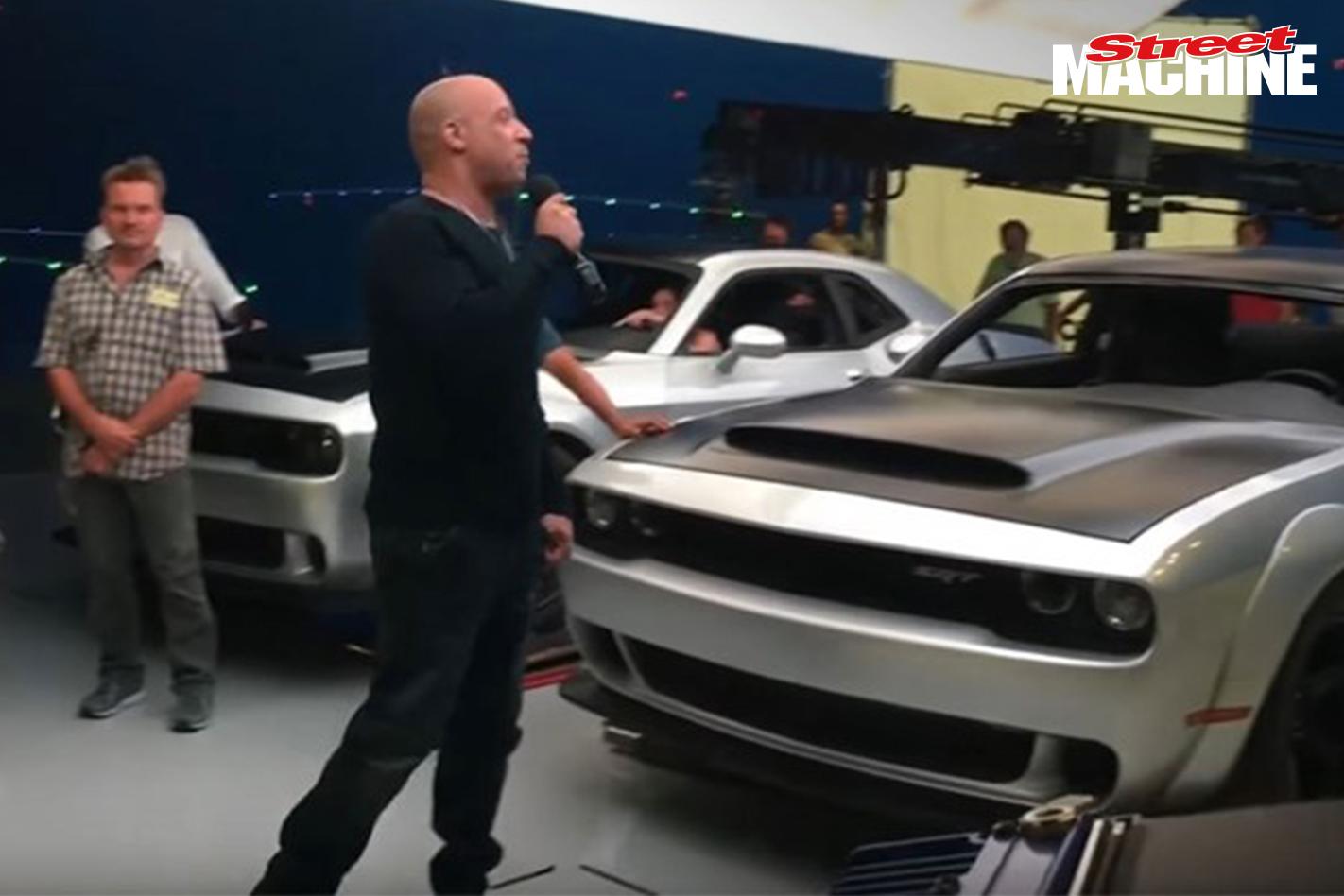 Dodge Challenger Demon Vin Diesel