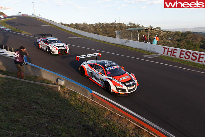 Garth -Tander -Bathurst -12-Hour -Audi -vs -Nissan -GT-R