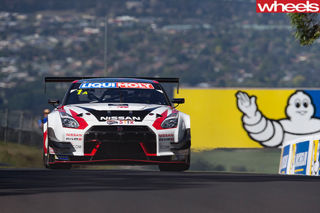 Bathurst 12-Hour race Nissan GT-R