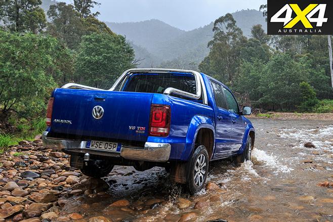 Volkswagen Amarok V6 rear