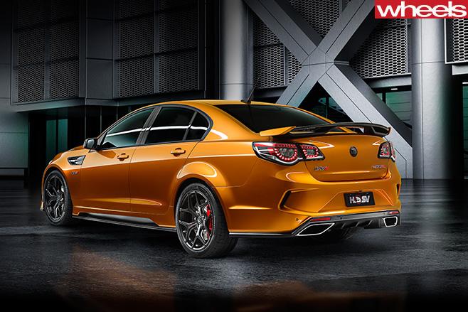 2017 HSV GTS-R Australian sedan