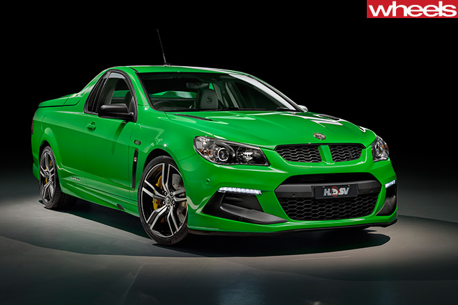 HSV-Maloo -front -side