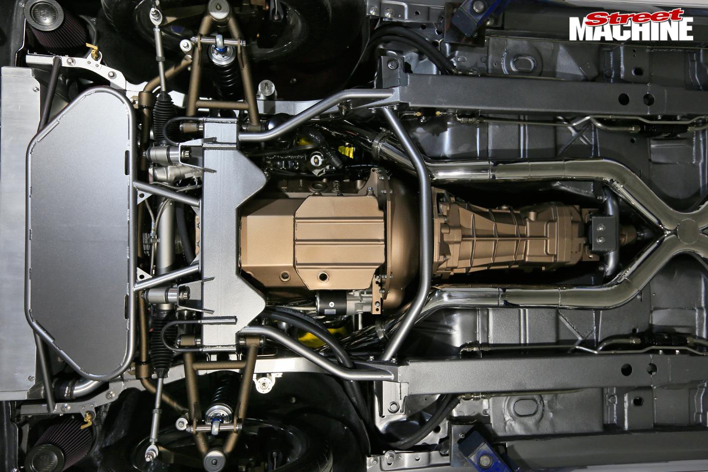 Chevrolet -camaro -underside