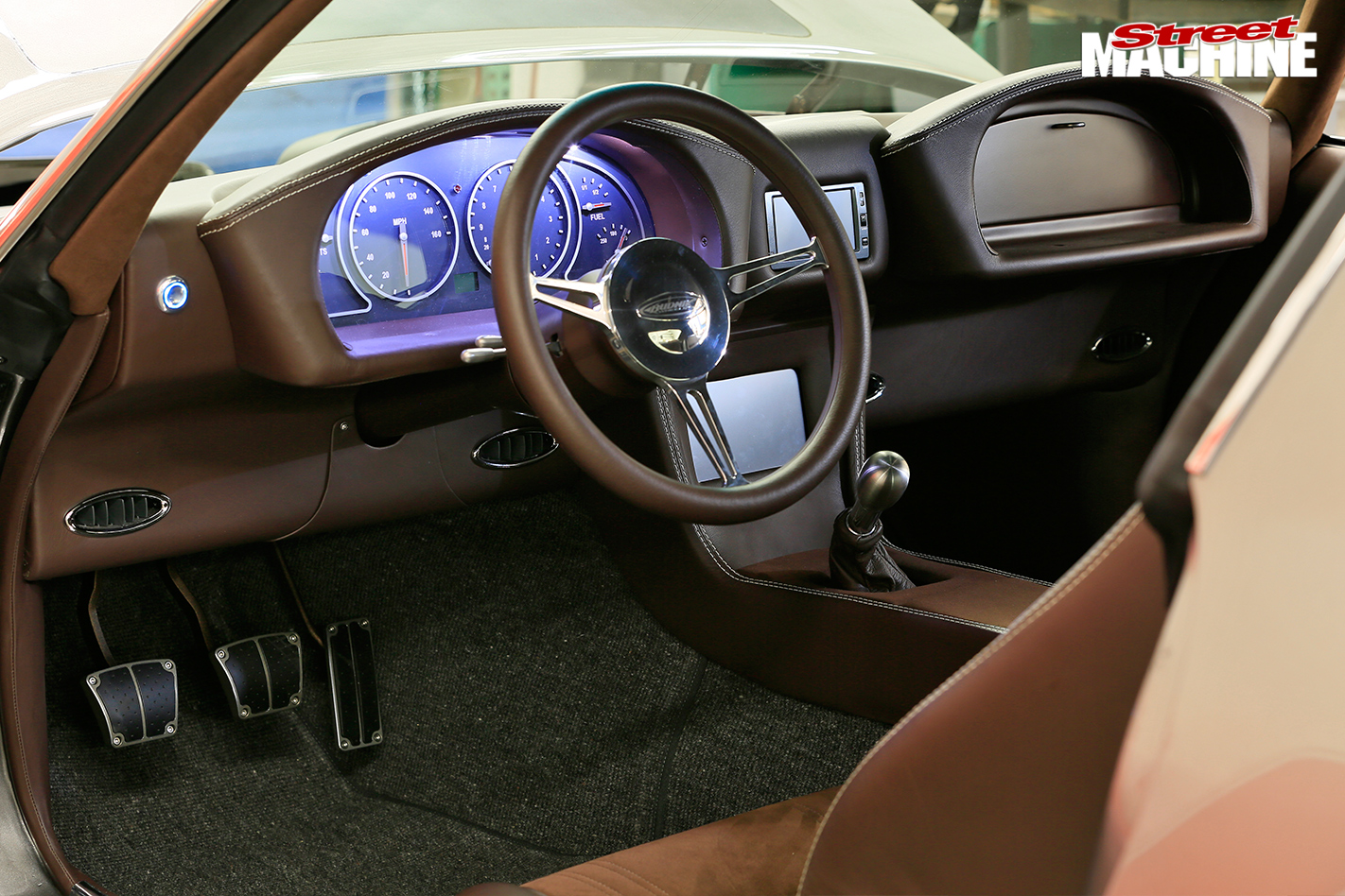 Chevrolet -camaro -interior -dash