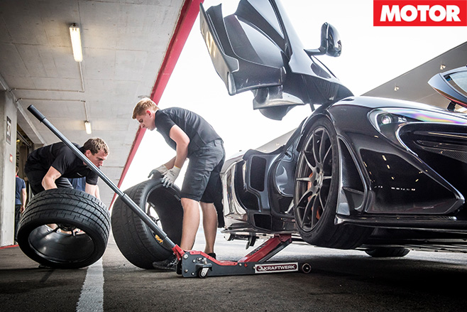 Tyre change