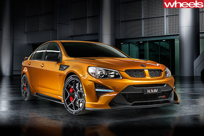 HSV-GTS-R-front -side