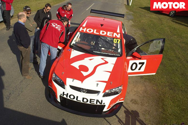 Holden VE Commodore prototype for V8 Supercars top