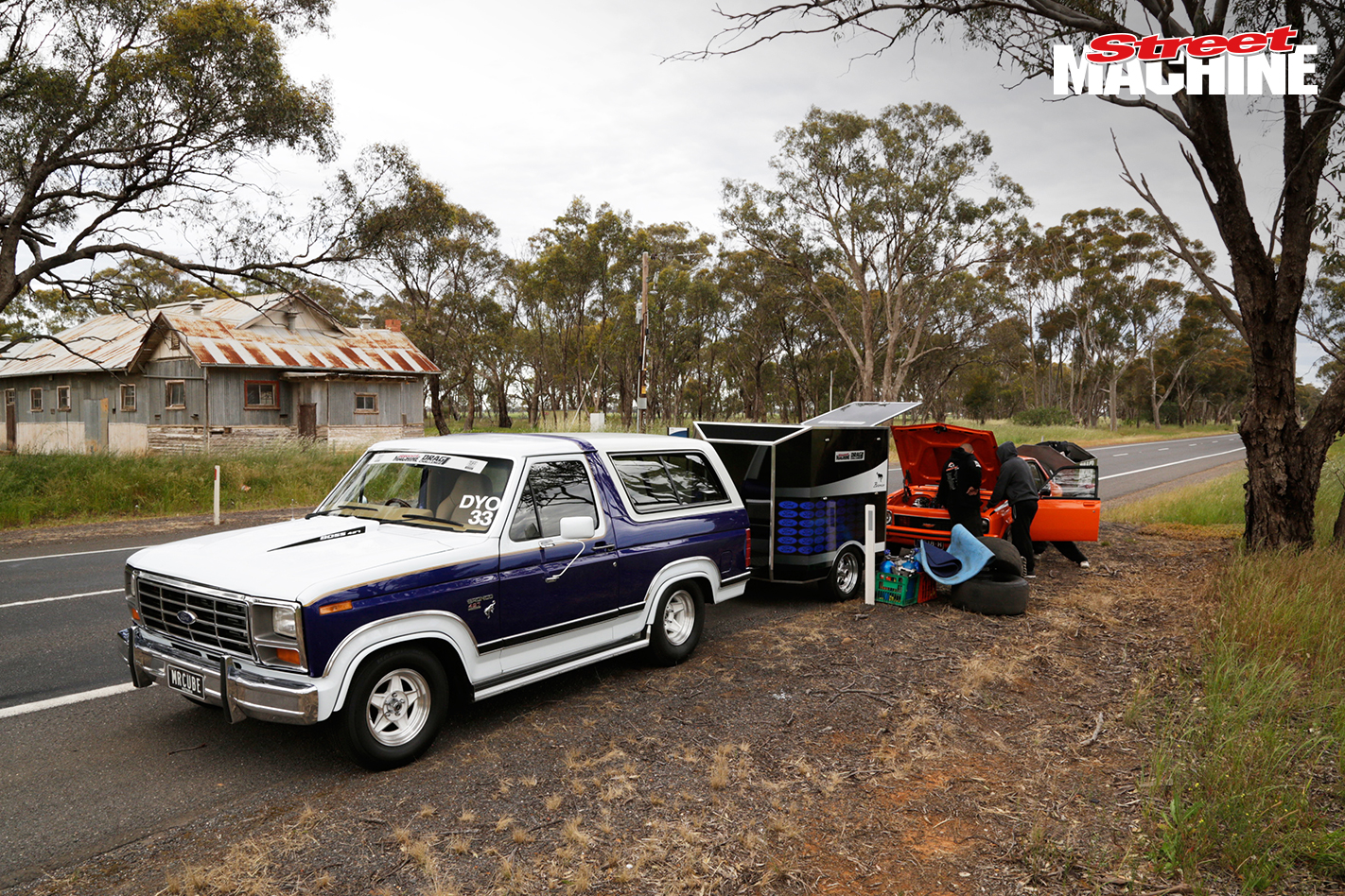 Ford Bronco Drag Challenge